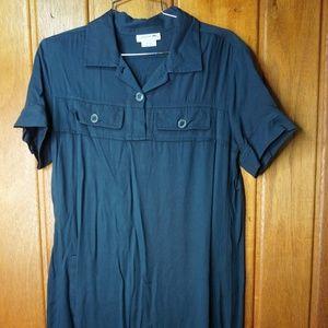 Lacoste Women Mini Dress Size 42 Black